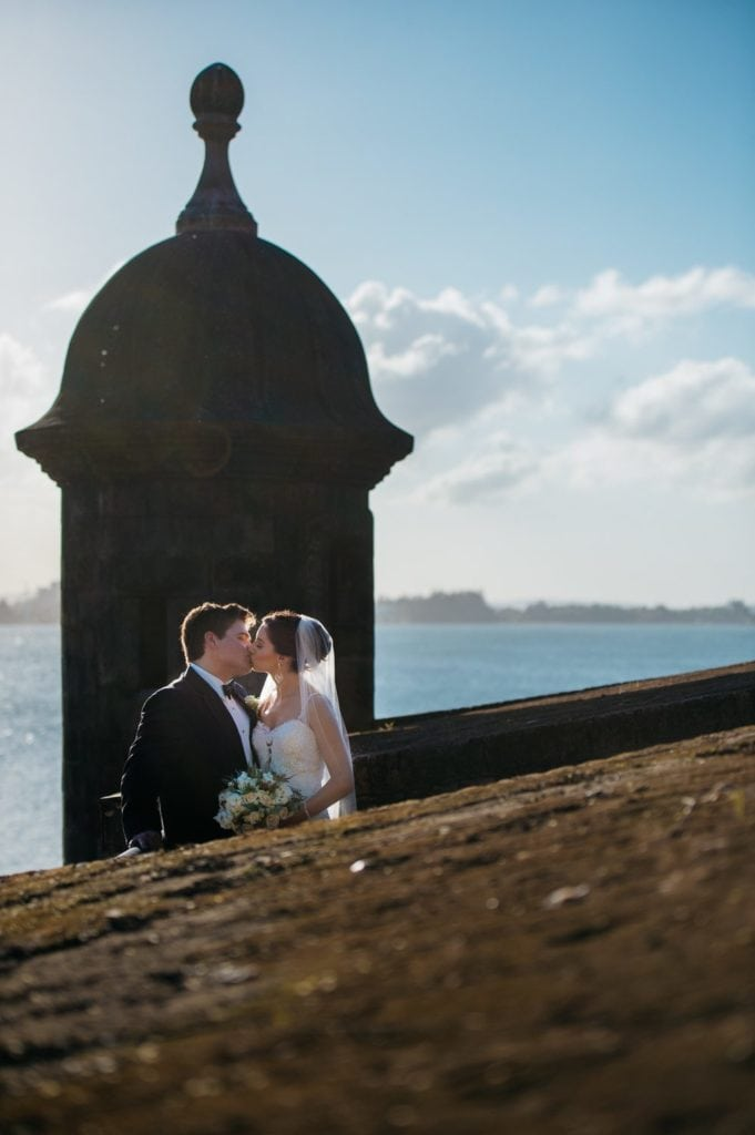 Wedding photo session at Old San Juan by puerto rico photographer