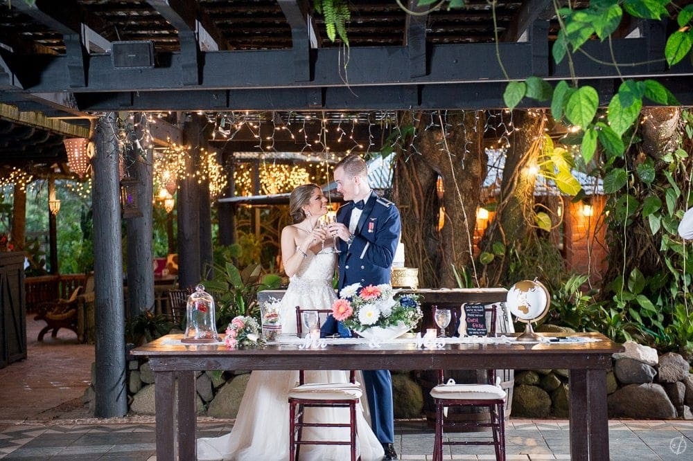 military wedding photography at Hacienda Siesta Alegre in Puerto Rico by wedding photographer Camille Fontanez