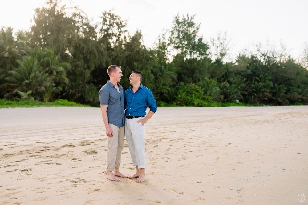 Gay Marriage Proposal at St Regis Bahia Beach Resort by Puerto Rico Wedding Photographer Camille Fontanez