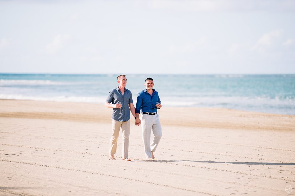 St Regis Bahia Beach Resort Engagement Session by Puerto Rico Wedding photographer Camille Fontanez