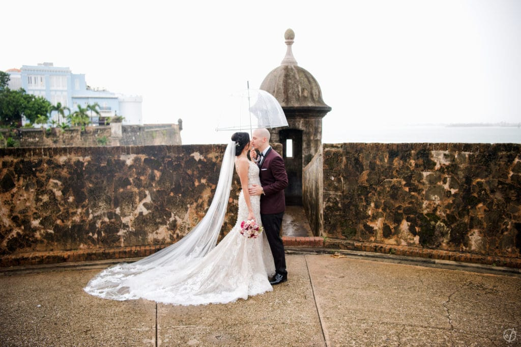 Elopement Photography in Old San Juan by Puerto Rico Wedding photographer Camille Fontanez
