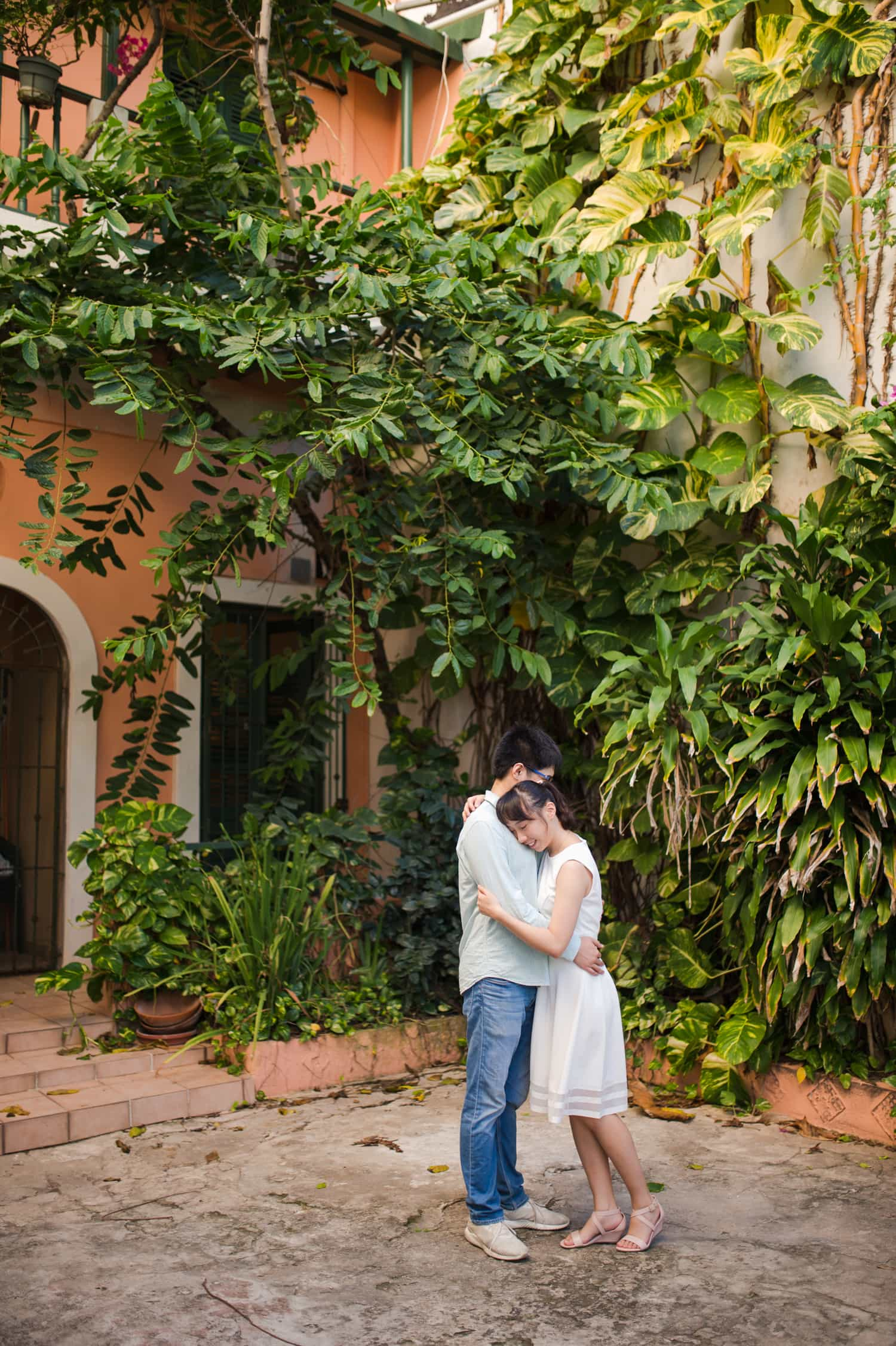 chinese pre-wedding photography in Old San Juan Puerto Rico by photographer Camille Fontanez