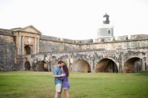 el morro engagement session by Puerto Rico wedding photographer Camille Fontanez