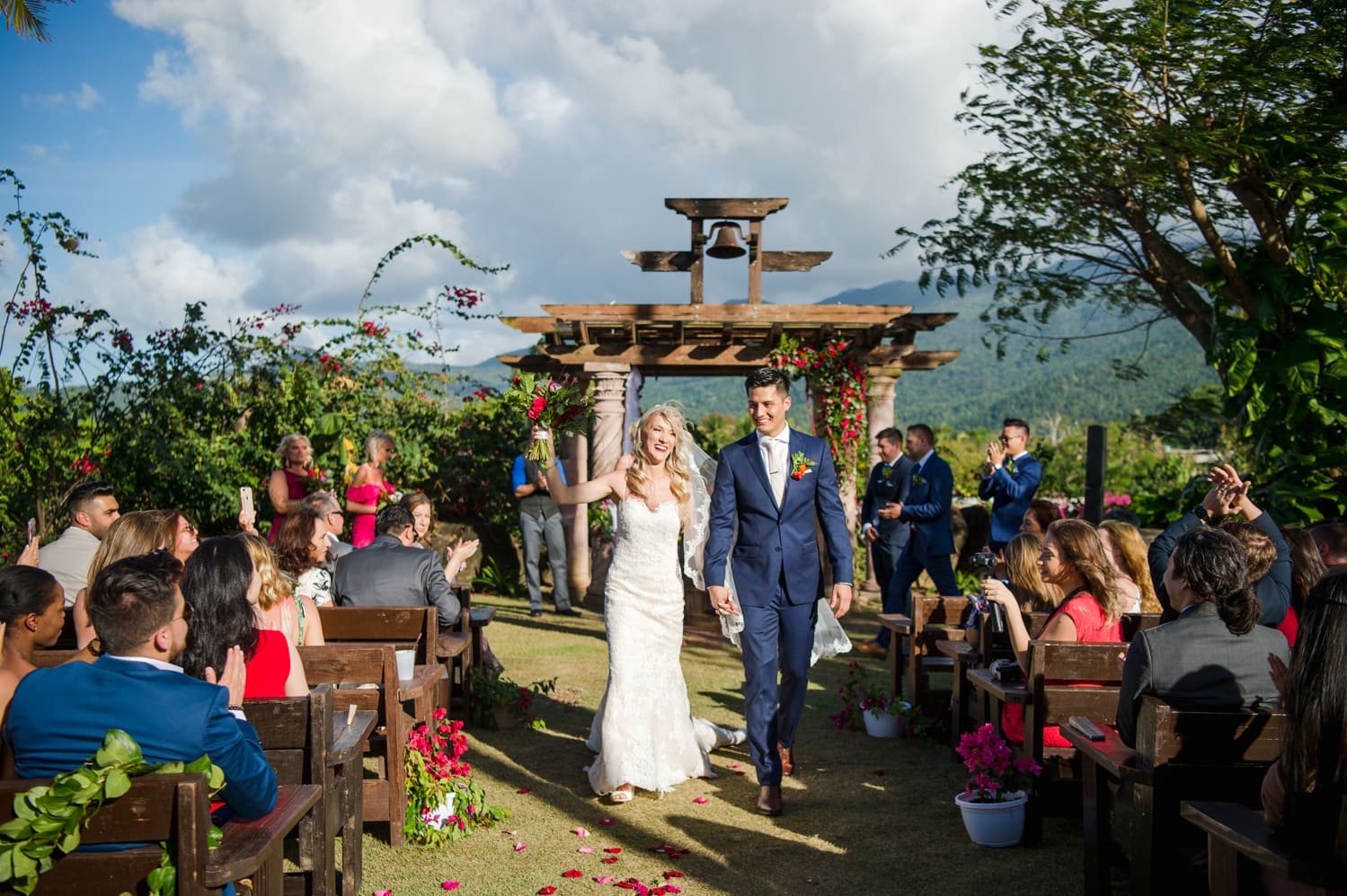 Puerto Rico destination wedding photography at Hacienda Siesta Alegre by Camille Fontz