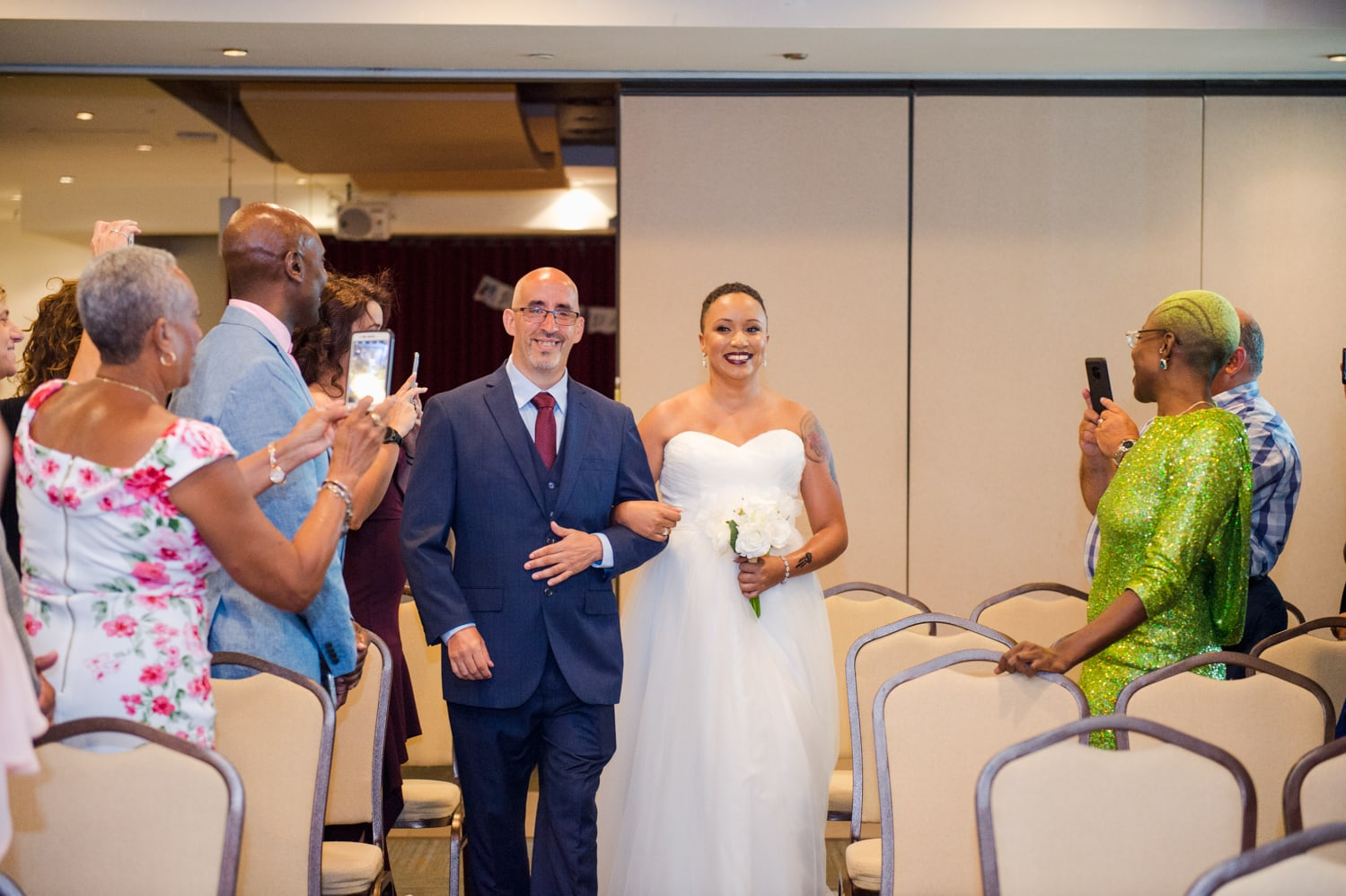 destination wedding at the Doubletree by Hilton San Juan by Puerto Rico wedding photographer