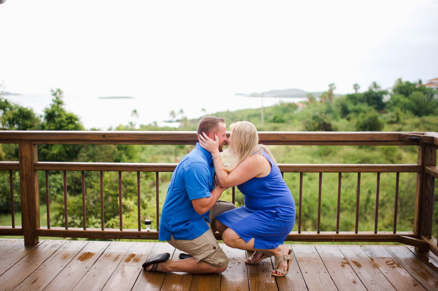family session turned surprise engagement photos in Culebra Puerto Rico by wedding photographer Camille Fontanez